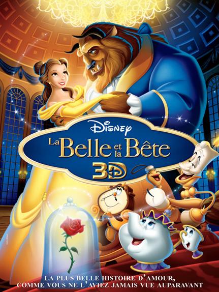 #8 - La Belle et la Bête (1991) : 4,1 sur 5