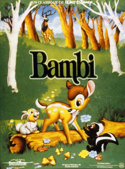 #20 - Bambi (1942) : 3,8 sur 5