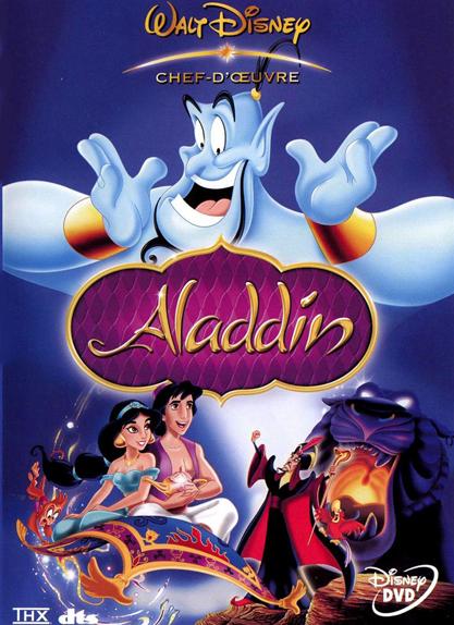 #3 - Aladdin (1992) : 4,3 sur 5