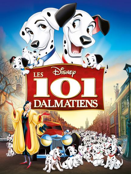 #22 - Les 101 Dalmatiens (1961) : 3,8  sur 5