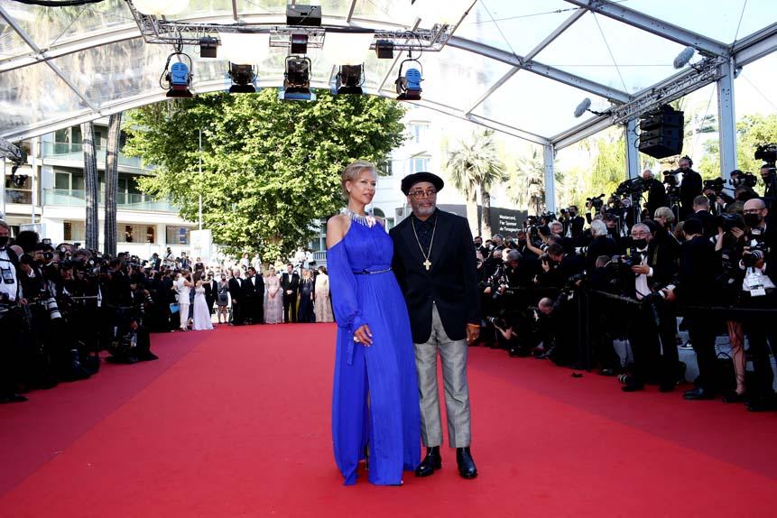 Tonya Lewis Lee et Spike Lee