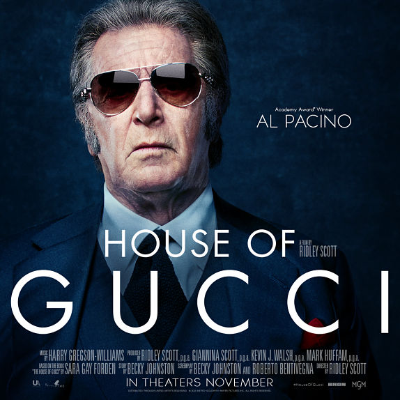 Al Pacino est Aldo Gucci