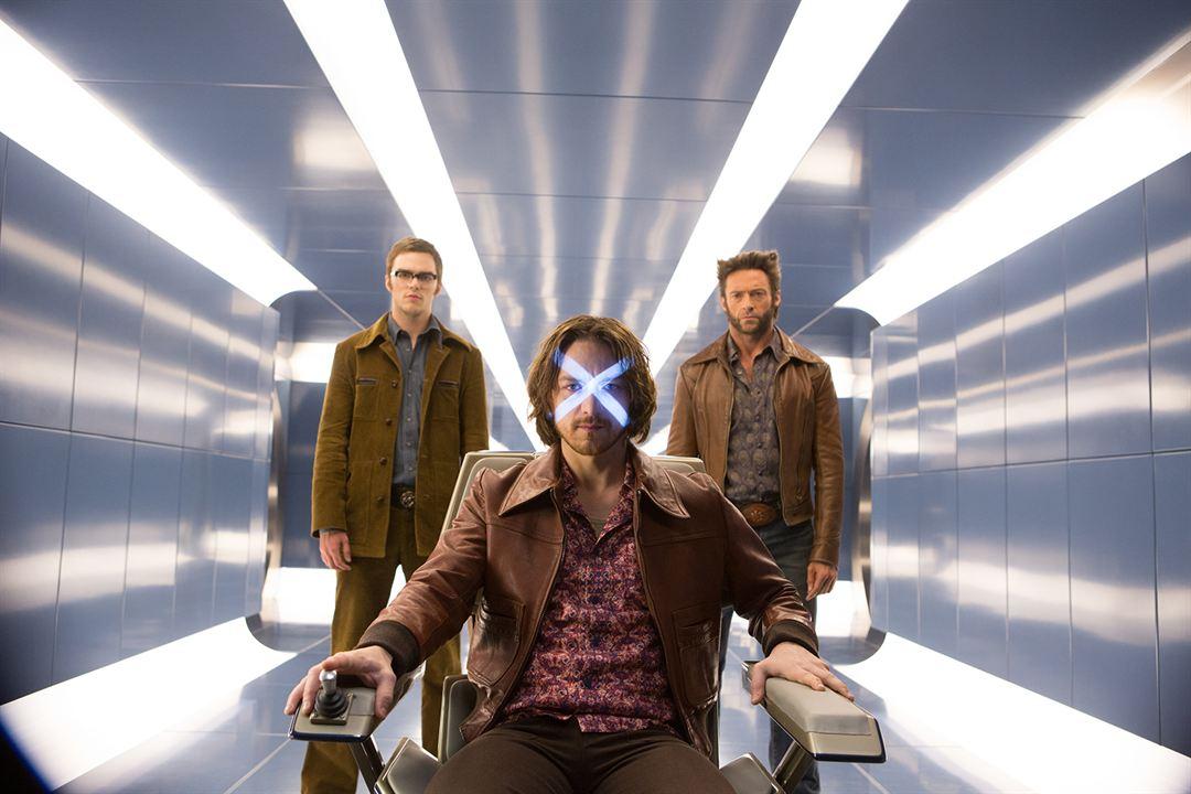 X-Men: Days of Future Past: Hugh Jackman, Nicholas Hoult, James McAvoy