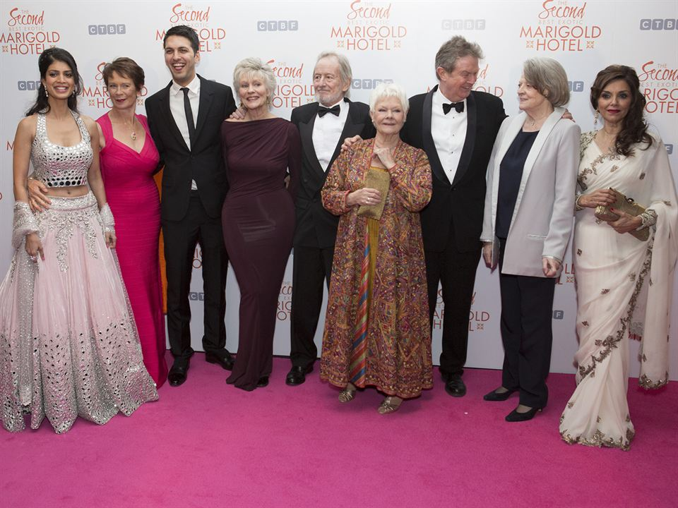 Indian Palace - Suite royale : Photo promotionnelle Celia Imrie, Diana Hardcastle, John Madden, Judi Dench, Lillete Dubey