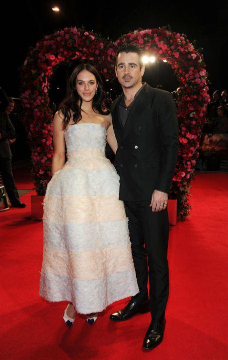 Un amour d'hiver: Jessica Brown Findlay, Colin Farrell
