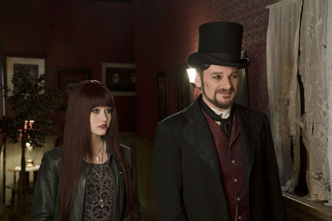 R.L. Stine's Monsterville: The Cabinet of Souls : Photo Andrew Kavadas, Katherine McNamara
