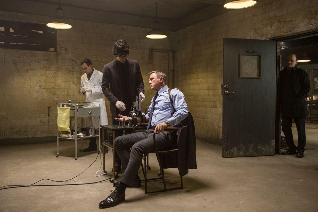 007 Spectre: Ben Whishaw, Rory Kinnear, Daniel Craig