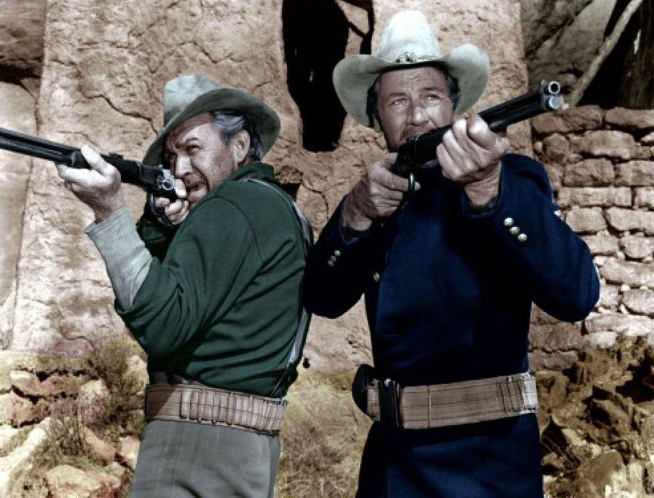Fort Massacre : Photo Forrest Tucker, Joel McCrea