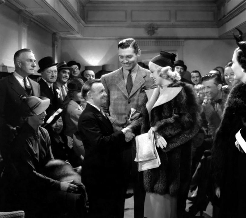Saratoga : Photo Clark Gable, Jean Harlow