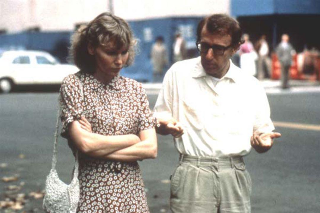 Hannah et ses soeurs : Photo Mia Farrow, Woody Allen