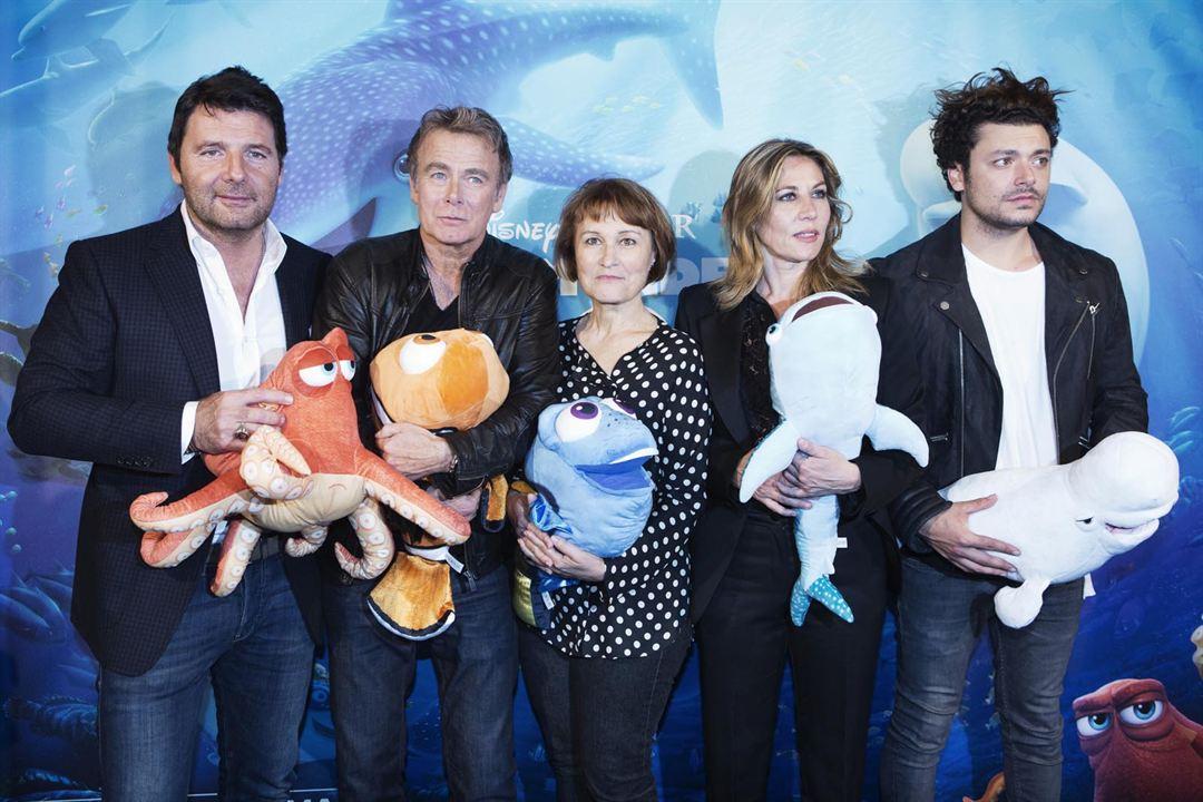 Le Monde de Dory : Photo promotionnelle Céline Monsarrat, Franck Dubosc, Kev Adams, Mathilde Seigner, Philippe Lellouche