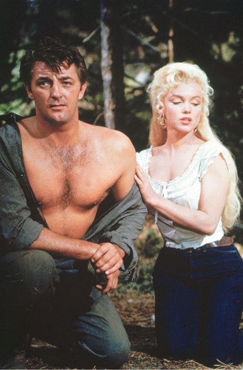 Rivière sans retour: Marilyn Monroe, Robert Mitchum