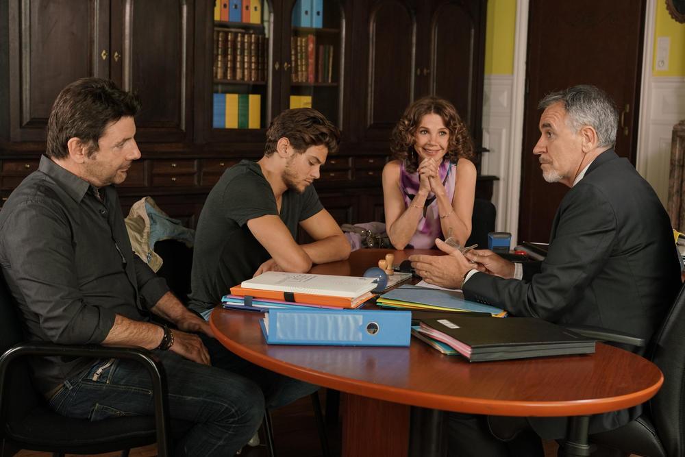 Photo Jean Dell, Philippe Lellouche, Rayane Bensetti, Victoria Abril