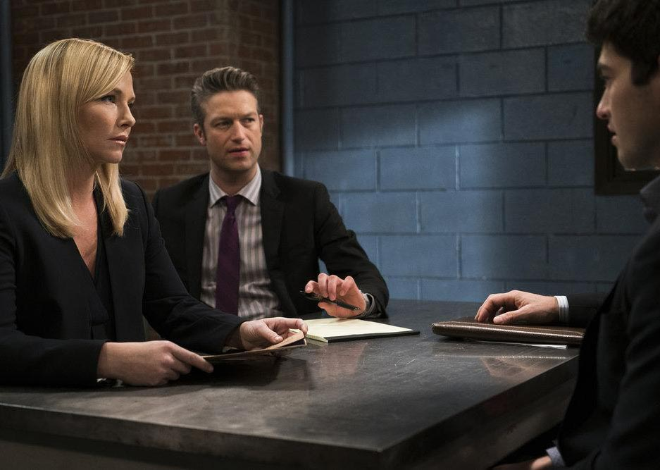Photo Ian Nelson, Kelli Giddish, Peter Scanavino