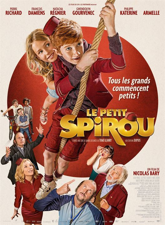 AfficheLe Petit Spirou
