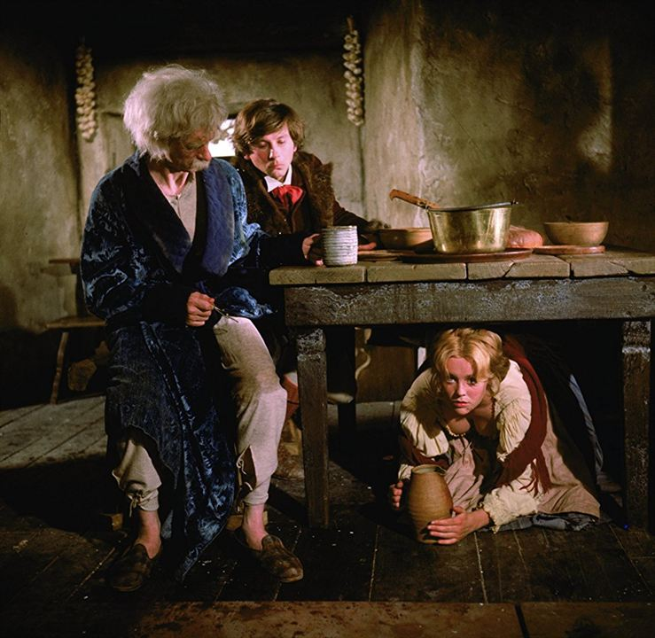 Le Bal des vampires : Photo Jack MacGowran, Roman Polanski