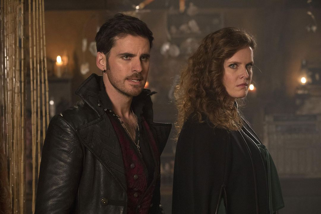 Photo Colin O'Donoghue, Rebecca Mader