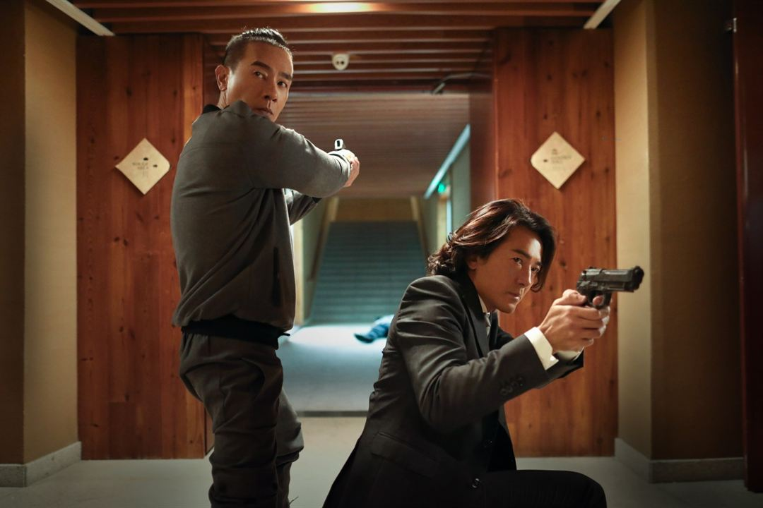 Photo Ekin Cheng, Michael Tse