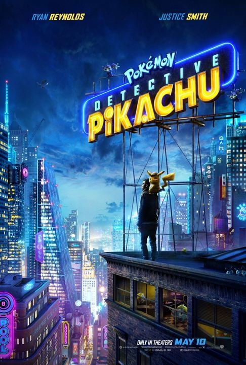 Affiche de Détective Pikachu