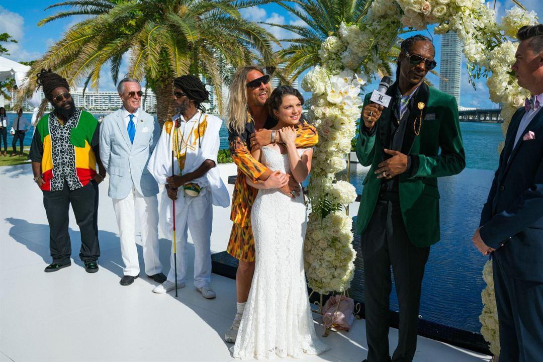 The Beach Bum : Photo Matthew McConaughey, Snoop Dogg, Stefania Owen
