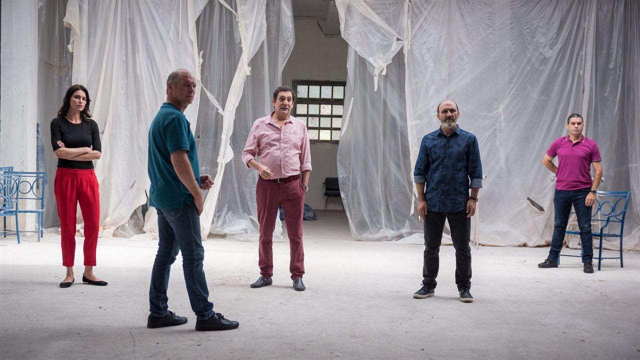 Les Siffleurs : Photo Agustí Villaronga, Antonio Buíl, Catrinel Marlon, Vlad Ivanov