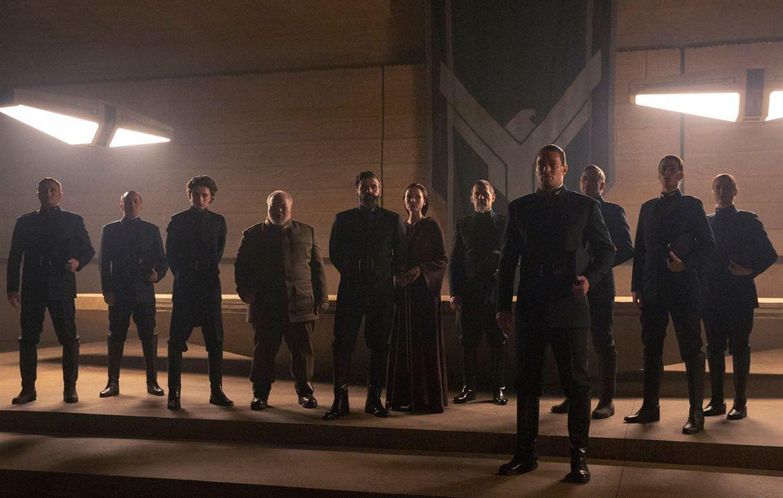 Dune : Photo Jason Momoa, Josh Brolin, Oscar Isaac, Rebecca Ferguson, Stephen McKinley Henderson