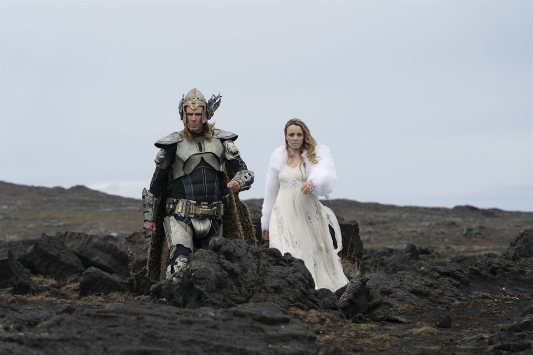 Eurovision Song Contest: The Story Of Fire Saga : Photo Rachel McAdams, Will Ferrell