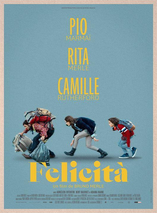Affiche du film Felicità - Affiche 1 sur 1 - AlloCiné