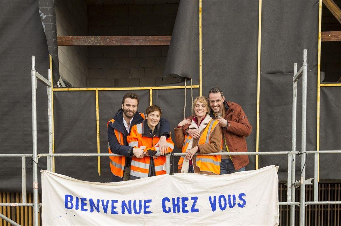 Photo Amaury de Crayencour, Judith Siboni, Julien Boisselier, Olivia Côte