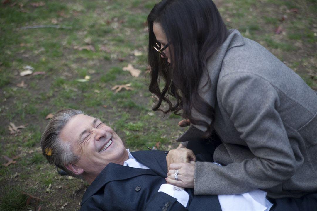 Amour aveugle : Photo Alec Baldwin, Demi Moore