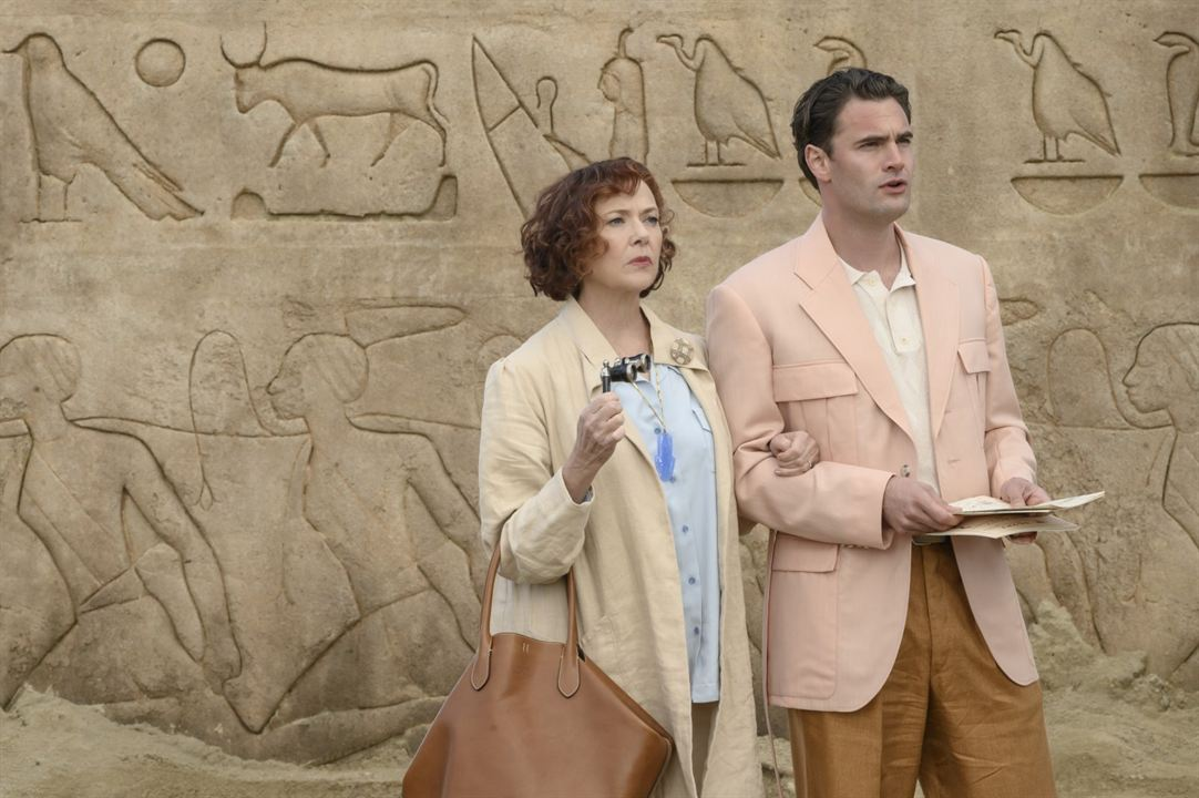 Mort sur le Nil : Photo Annette Bening, Tom Bateman