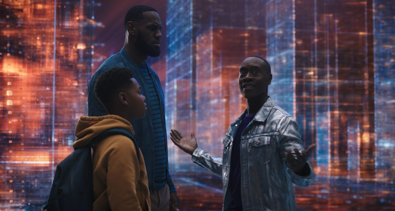 Space Jam - Nouvelle ère : Photo Cedric Joe, Don Cheadle, LeBron James