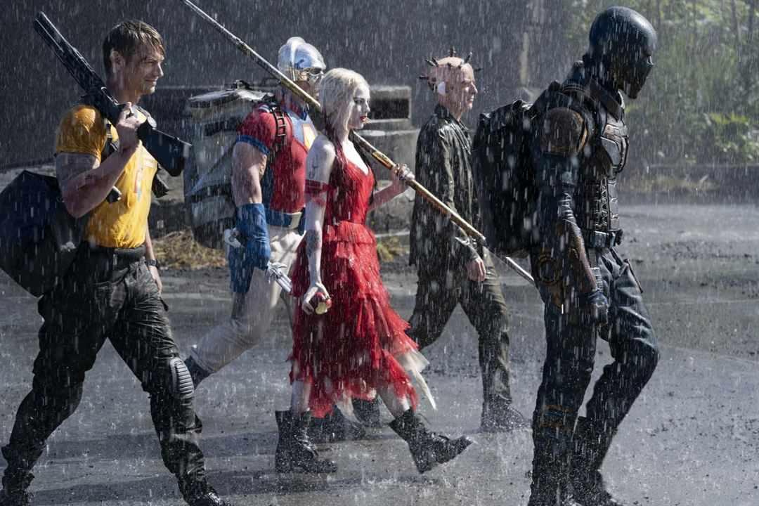 The Suicide Squad: Margot Robbie, John Cena, Idris Elba, Peter Capaldi, Joel Kinnaman