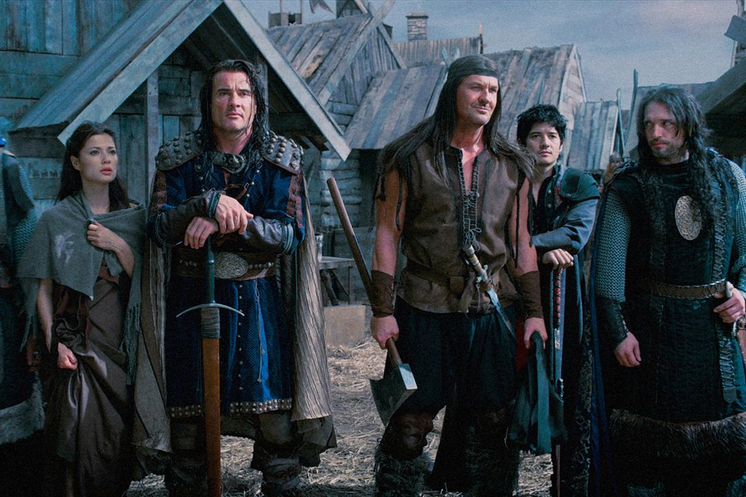 Vikingdom - l'éclipse de sang: Dominic Purcell