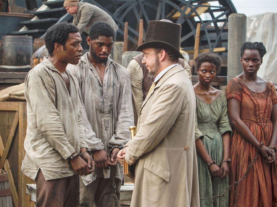 12 Years a Slave: Chiwetel Ejiofor, Paul Giamatti