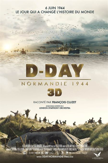 D-Day, Normandie 1944 en 3D