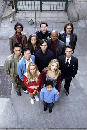 Heroes : photo Adrian Pasdar, Ali Larter, Greg Grunberg, Hayden Panettiere, James Kyson Lee